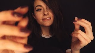 ASMR FR ✴️FRISSONS GARANTIS✴️ Hand movement, face touching, close whispering, attention personnelle