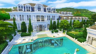 LUXURIOUS MANSION | Sims 4 Speed Build