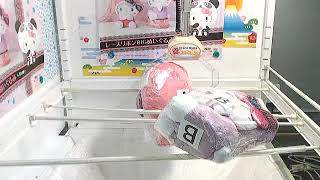 取得「Panda Hello Kitty - Lace Ribbon Big Plushy A」了!