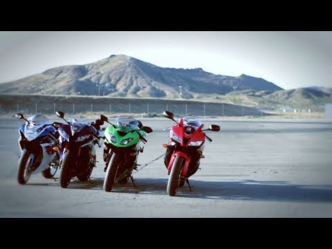 2011 Supersport Track Shootout - Can Suzuki's new Gixxer spoil the 600cc party?