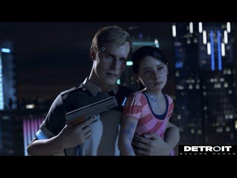 Detroit Become Human  Все варианты концовок демоверсии