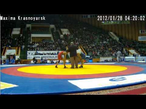 Б. Батоев-Р.Великов(Болгария) Ярыгин 2012 60 кг