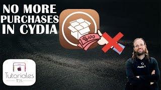 Saurik Desactiva las compras en Cydia (iOS 11)