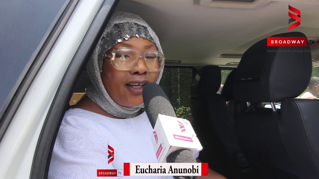 Nollywood Actress Eucharia Anunobi says her last words to late son Raymond (VIDEO)