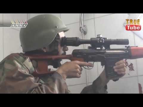 معارك القابون اقتحام مقرات قيادة الارهابيين بمساعدة  قناص الجيش السوري — جزء 9 -1- مترجم للعربية