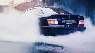 Bmw e36 328i ★ Rainy Street Drift