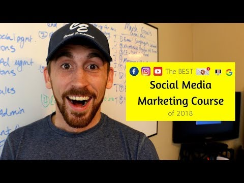 The Best Social Media Marketing Course in 2018