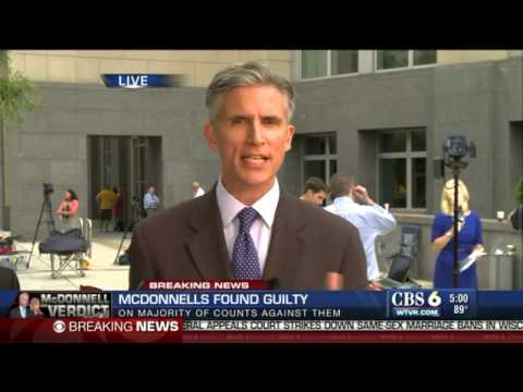 WATCH: Former Va. governor Bob McDonnell now convicted felon