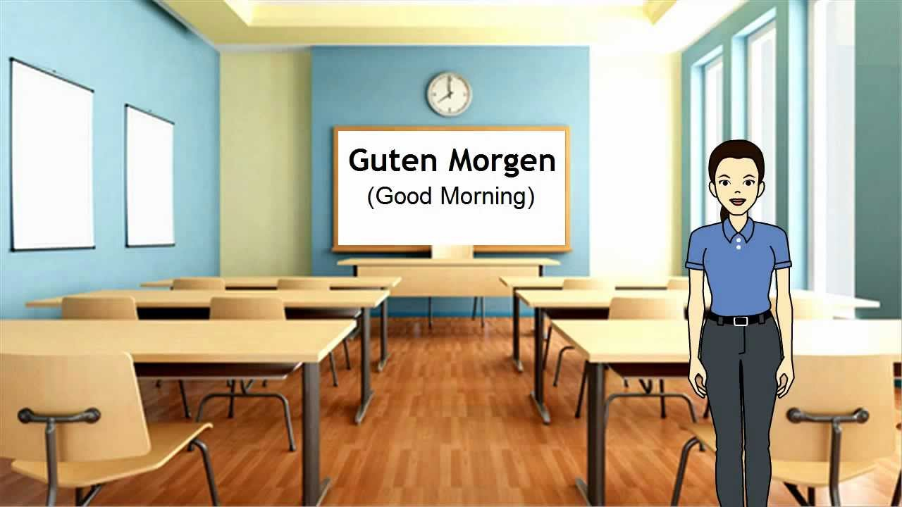 How Ro Say Good Morning In German : How to say good morning in german youtube