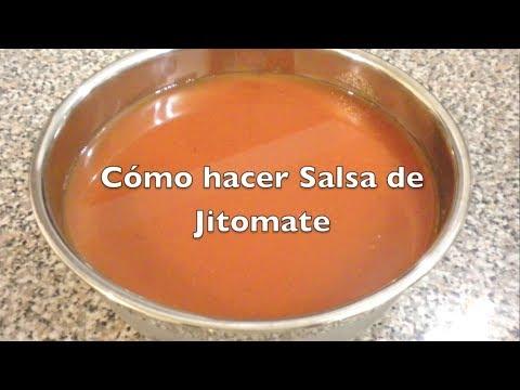 SALSA DE JITOMATE para Tortas Ahogadas, Antojitos Mexicanos, etc.