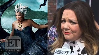 Melissa McCarthy Reacts To Queen Latifah's 'Little Mermaid' Casting