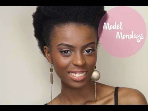 MODEL MONDAYS: Nude with a pop of Colour