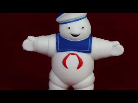 Stay Puft Marshmallow Man Stress Reliever