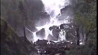 "Учар.Водопад Учар-""Неприступный"".Uchar waterfall - ""Inaccessible"". Chulchinsky waterfall."