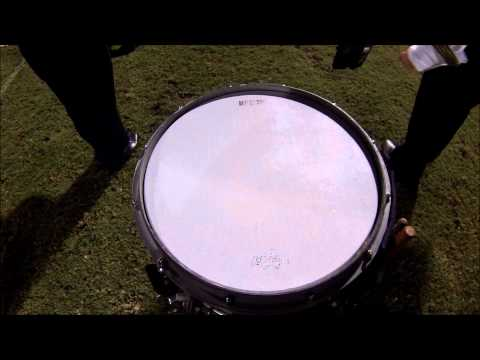 Fleming Island High School Marching Band Snare Cam