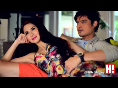 BTS: Dingdong Dantes & Marian Rivera for HOLA Magazine August 2014