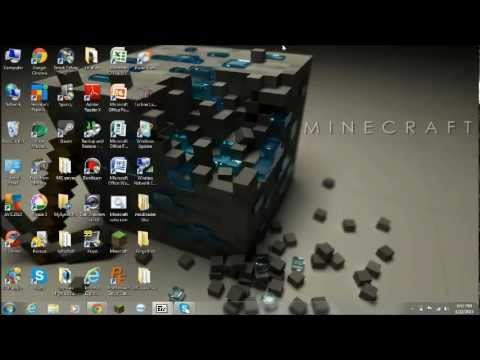 Minecraft: How to install mods with Minecraft Forge (1.5.2. Windows 7)