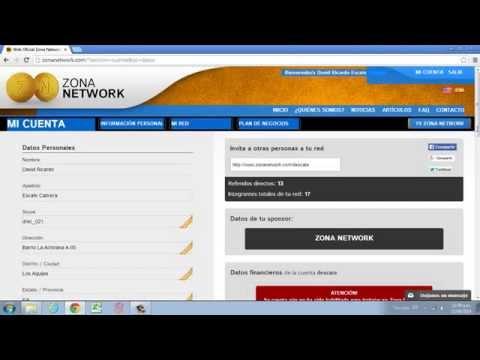 Enviar Documentos a Zona Network