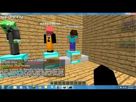 Minecraft-How To Create Your Own Ranks Using Essentials Group Manager
