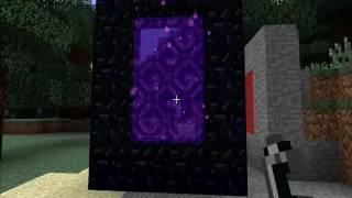 Как построить портал в Ад в MineCraft