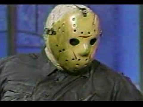 Jason Voorhees on talk show Video