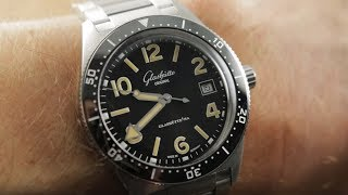 2019 Glashutte Original SeaQ 39.5mm (1-39-11-06-80-70) Dive Watch Review