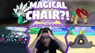 MAGICAL CHAIR?! SO MANY SHINIES! ft 5 Shinies in One Horde and Shiny Zygarde?!