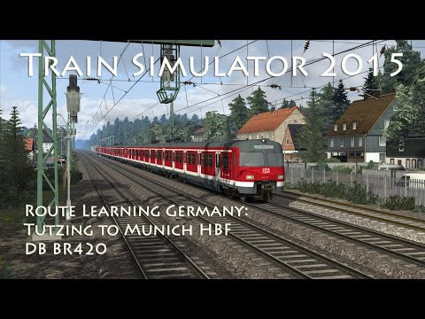 Train Simulator 2015 - Route Learning Germany: Tutzing to Munich HBF (BR 420)