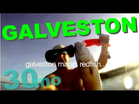 30milesout.com  RED FISH GALVESTON TEXAS SIGHT CASTING