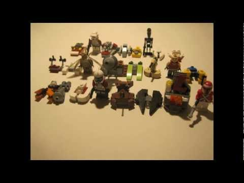 Lego Star Wars: Custom Star Wars 2013 Advent Calendar MOC