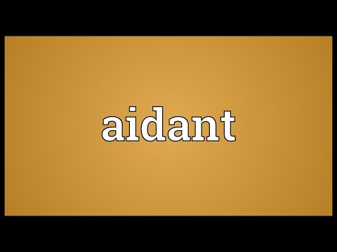 Header of Aidant