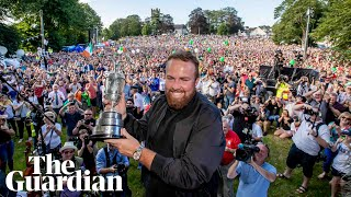 Shane Lowry reflects on Open win: 'It's not fully sunk in yet'