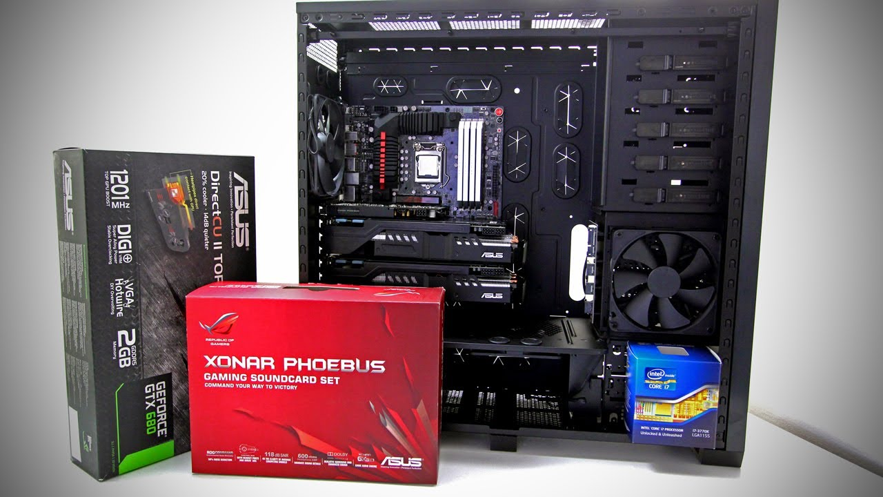 Ultimate Gaming pc Build Video