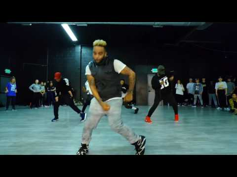 Usher -Caught Up Choreography by : Hollywood