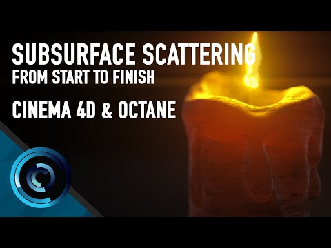 Subsurface Scattering In Octane Cinema 4D