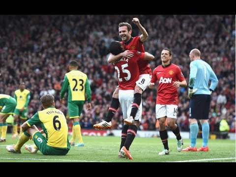 Manchester United vs Norwich 4-0 all goals and highlights 26/04/2014 @ea.fifa15