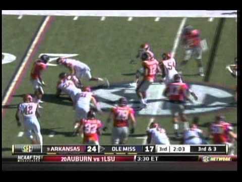 Arkansas vs. Mississippi 2011
