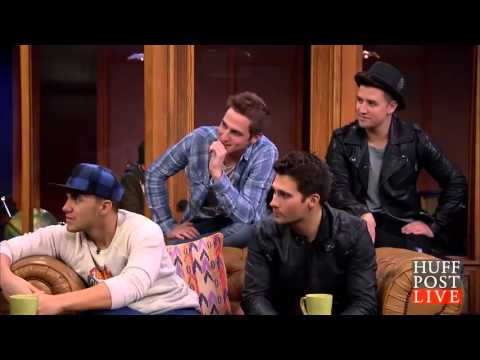 Big Time Rush- Huff Post 3-12-13 (THANK YOU 4,000+ Subscribers!!)