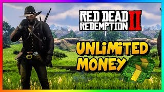 RDR2 - *NEW* UNLIMITED MONEY GLITCH! | BEST Red Dead Redemption 2 Money Gold Method/Guide