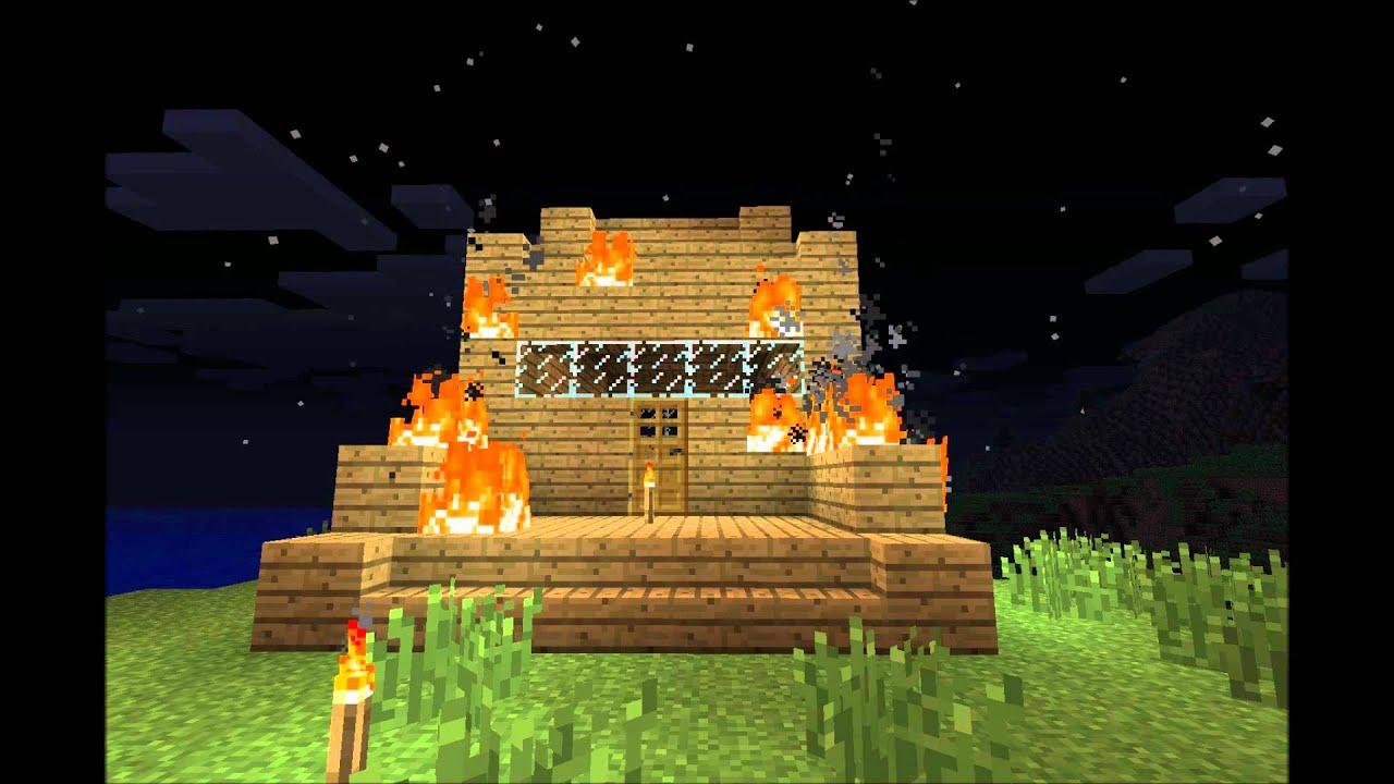 Safety Torch Wallpaper Minecraft-safety Torch Music