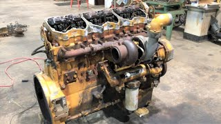 Bringing a Caterpillar 3406E 14.6 Liter Diesel Engine Back to Life