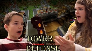 Tower Defense-Minecraft