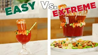 Easy Vs. Extreme: Micheladas • Tasty