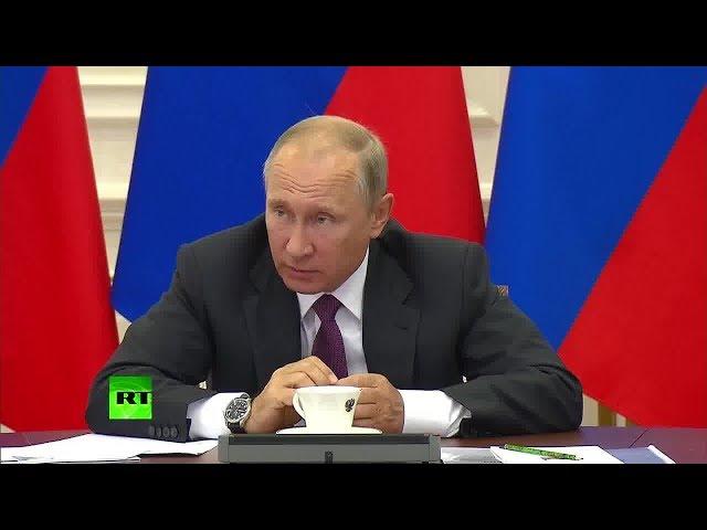 Есть проблемы? Путин отчитал замминистра финансов за задержку перехода портовых тарифов на рубли