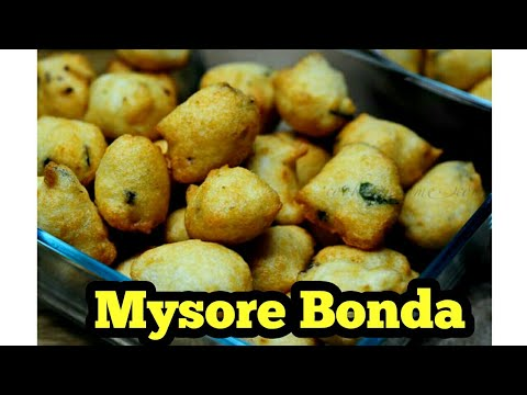 Mysore Bonda Recipe in Tamil /மைசூர் போன்டா/Easy Tasty Snacks / Kids Special Snacks