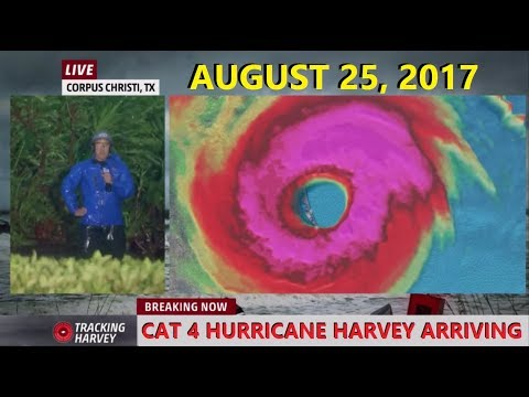 Hurricane Harvey - Storm Surge, Power Outages and Sparks - Part 4 of 5