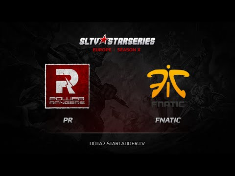PR vs Fnatic , SLTV Europe Season X, Day 15, Game 3