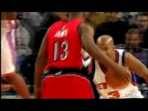 Marbury Talks Trash and is Owned by Mike James Video
