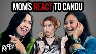 AWKARIN - CANDU  OUR MOM`S REACTION