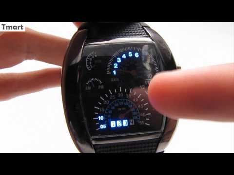 LED Tacho Armbanduhr (Gadget Test)
